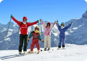 Ski holidays for the whole family